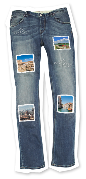 art cities tour jeans rental in rome