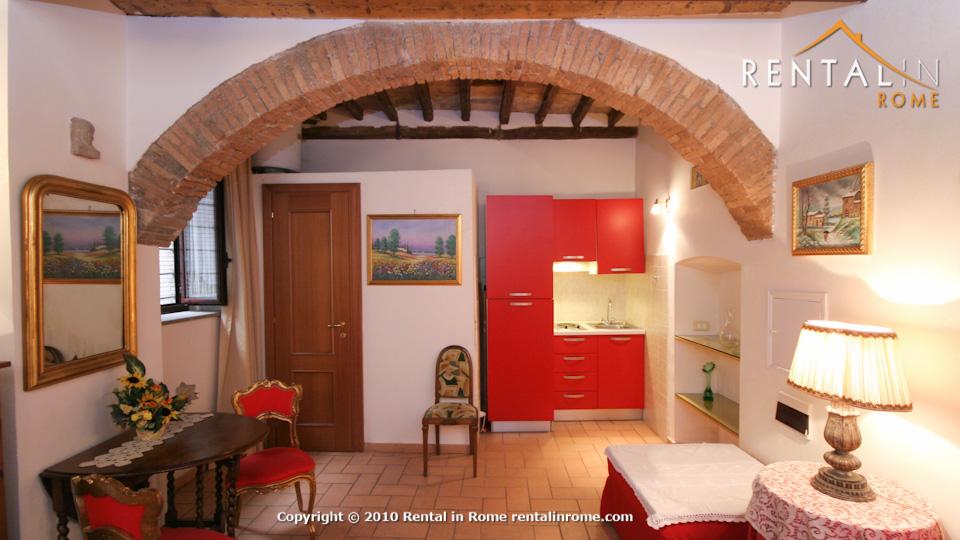 Alessandro studio apartment for Studio apartments in rome