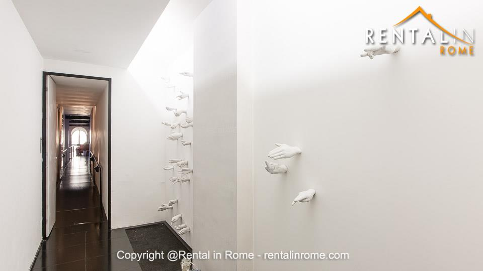 Luxury apartment with swimming pool for rent in Trastevere ...